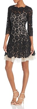 Nha Khanh Floral Lace Dress