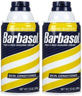 Barbasol Shave Cream, Skin Conditioner - 10 oz - 2 pk