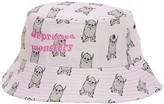 Depressed Monsters Yerman Bucket Hat (Pink) Caps