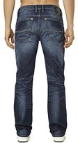 Buffalo David Bitton Men's Six Slim Straight Leg Denim Jean In Sandblasted