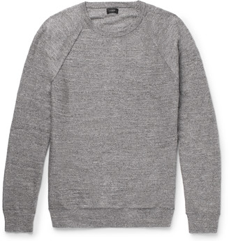J.Crew Melange Cotton-Jersey Sweater