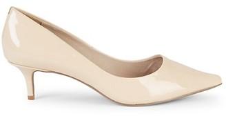 Saks Fifth Avenue Donata Kitten-Heel Patent Leather Pumps