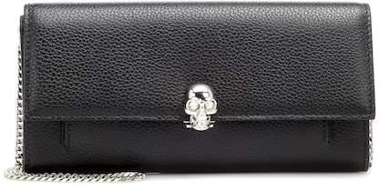 Alexander McQueen Wallet on Chain leather shoulder bag