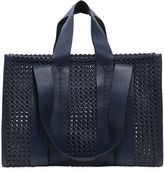 Corto Moltedo Large Costanza Woven Faux Leather Bag