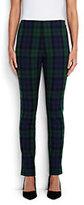 Classic Women's Petite Mid Rise Perfect Fit Pants-Blackwatch
