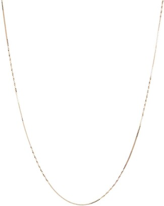"Bony Levy 14K Yellow Gold 18"" Twisted Station Chain Necklace"