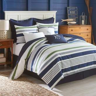 Southern Tide Sullivan Stripe Reversible Comforter Set