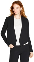 White House Black Market Cropped Soft Drape Jacket