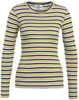 Mads Norgaard TUBA Long sleeved top yellow/grey/navy