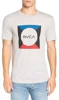 RVCA Men's 'Basic Box' Graphic Crewneck T-Shirt