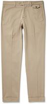 Michael Bastian - Slim-fit Stretch-cotton Gabardine Trousers