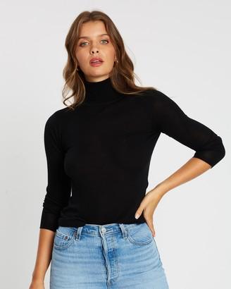 Atmos & Here Lani Turtle Neck Merino Knit Sweater
