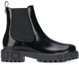 Salvatore Ferragamo Gancio ankle boots
