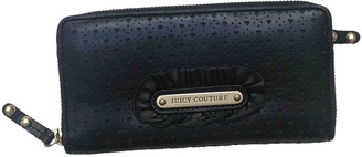 Juicy Couture Black Leather Wallets