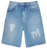 J.w.anderson Distressed Denim Shorts