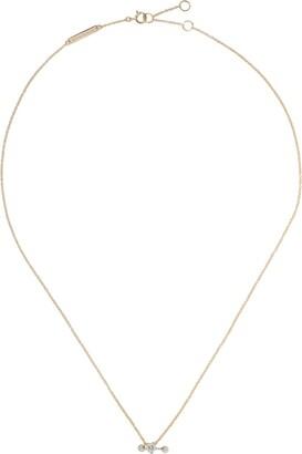 Delfina Delettrez 18kt yellow and white Two In One diamond necklace