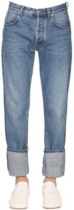 Loewe Logo Cotton Denim Jeans