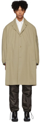 Random Identities Beige Car Coat