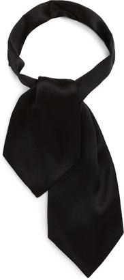 Saint Laurent Small Silk Ascot Tie