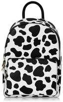 Skinnydip **cow print backpack