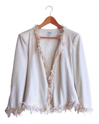 Armani Collezioni White Jacket for Women Vintage