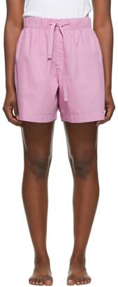 Tekla Pink Pyjama Shorts