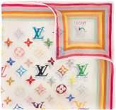 Louis Vuitton pre-owned monogram handkerchief scarf