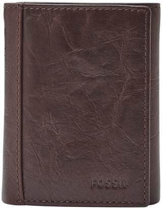 Fossil Neel Trifold Leather Wallet
