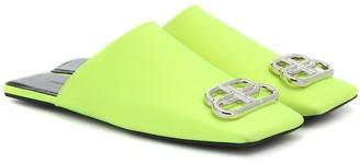 Balenciaga Double Square BB slippers