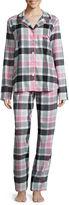 Liz Claiborne Flannel Long Sleeve Pant Pajama Set