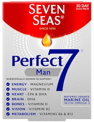 Seven Seas Perfect 7 Man 30 Tablets And 30 Capsules