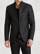 John Varvatos Shawl Collar Linen Jacket