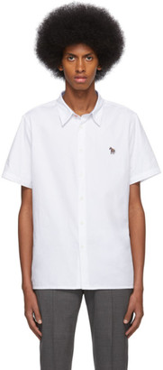 Paul Smith White Zebra Casual Shirt