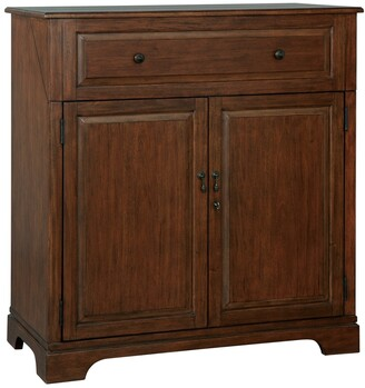Howard Miller Good Cheer Contemporary, Sleek, Transitional Style, Foyer Liquor or Wine Cabinet, Sideboard, or Media Cabinet