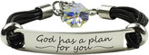 Swarovski Pink Box Women's Bracelets AB - Stainless Steel Plan for You Bracelet With Crystals