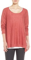 Eileen Fisher Petite Women's Scoop Neck Sweater