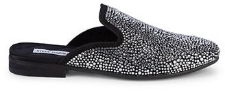 Steve Madden Embellished Loafer Mules