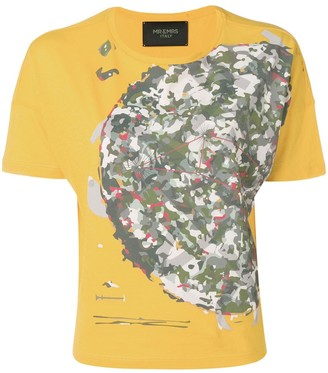 Mr & Mrs Italy camouflage print T-shirt