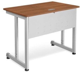 """Symple Stuff 36"""" Aanya Modular Training Table with Cable Management"""