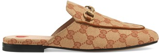 Gucci Women's Princetown GG canvas slipper