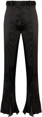 Y/Project Trumpet high waist flared trousers