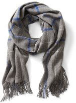 Banana Republic Wool Windowpane Scarf