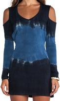 Blue Life Long Sleeve Thrasher Tee Dress