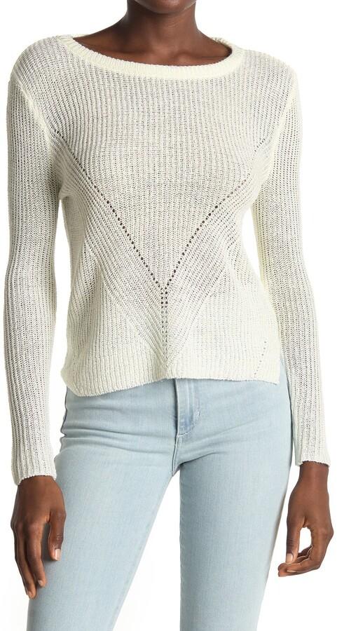 Love by Design V Stitch Pullover Sweater