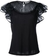 Amen lace shortsleeved top