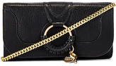 See by Chloe Hana Small Leather Wallet On A Chain Bag