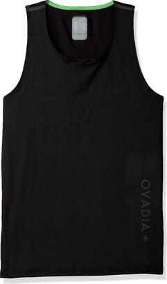 Ovadia & Sons Ovadia+ Men's Men's Performance Featherweight Training Tank Top Shirt