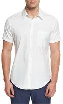 Theory Rammis Short-Sleeve Woven Shirt