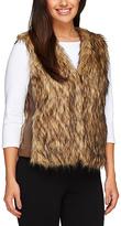 Natural Faux Fur Vest
