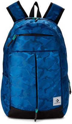 Converse Navy Public Access Laptop Backpack